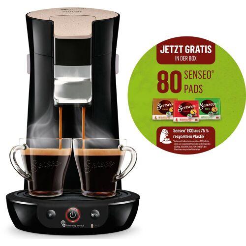 Senseo Kaffeepadmaschine Viva Café Eco HD6562/32, inkl. 80 Kaffeepads