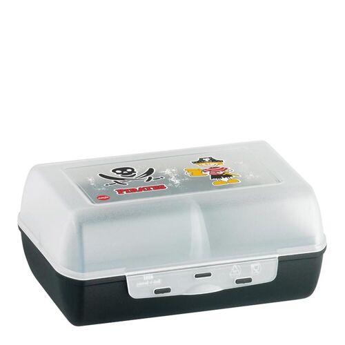 Emsa Lunchbox »Clipbox mit Trennwand Pirate Variabolo«, Kunststoff, (1-tlg)