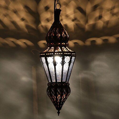 Casa Moro Lampenschirm »Marokkanische Deckenlampe Nura Blau handgefertigte orientalische Lampe aus Marokko«