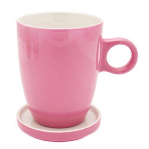 PICKWICK Tasse »Teetasse mit Untertasse, Tee Tip, rosa, 230 ml«