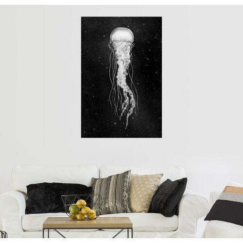 Posterlounge Wandbild, Weltraum Qualle