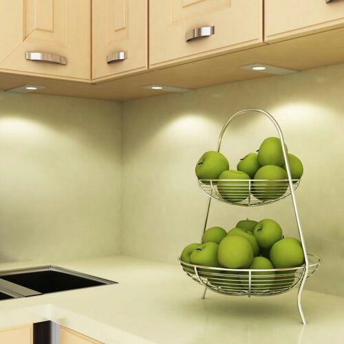 kalb Material für Möbel LED Unterbauleuchte »kalb LED Küchenleuchte Unterbauleuchte Aufbauleuchte Küchenlampe Unterbaustrahler SET«