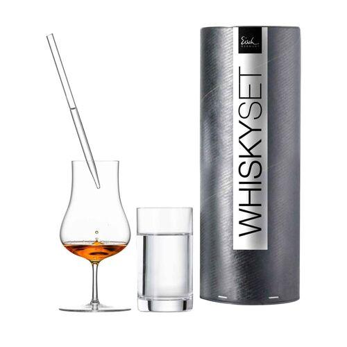 Eisch Whiskyglas »Gentleman Whisky-Glas Set Wasserglas & Pipette«