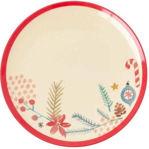 """rice Frühstücksteller »Melamin Teller """"Christmas Ornaments"""", Ø 16,5cm«"""