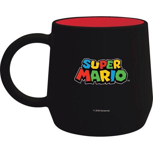 Becher »Super Mario Becher schwarz (355 ml)«