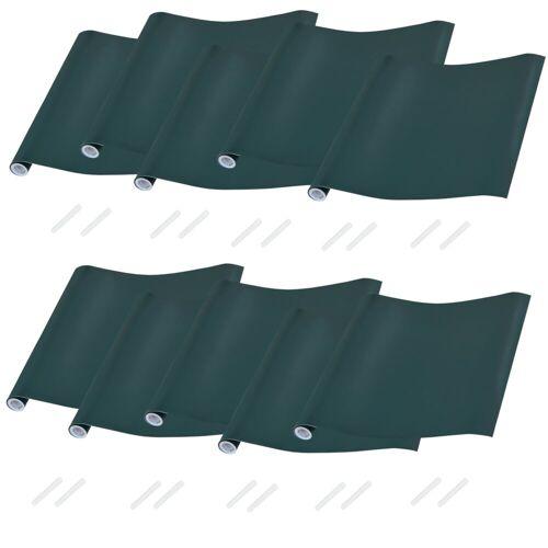 neu.haus Tafelfolie, (10 Stück), 40x300cm - mit Kreide - grün