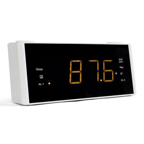 Blaupunkt »CLR 180 WH« Radiowecker (UKW, Uhrenradio mit Wecker, UKW Empfänger), weiß