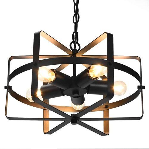 COSTWAY Deckenleuchte »Deckenlampe Retro Industrie Lampe Kronleuchter«