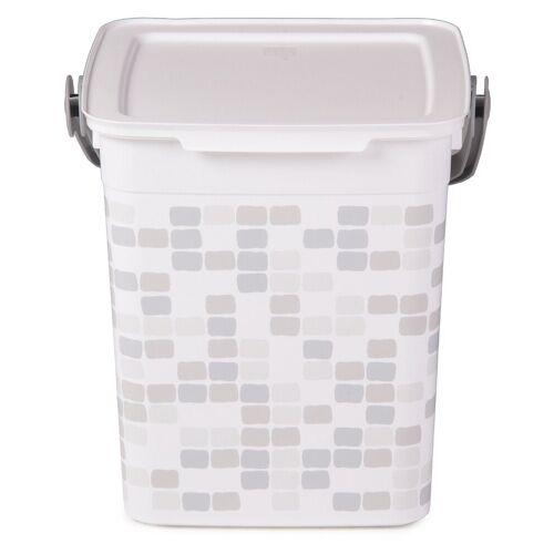 ONDIS24 Putzeimer »Putzeimer Smart 9L Eimer mit Deckel Wascheimer mit Griff leicht«, Mosaik