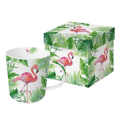 PPD Becher »Tropical Flamingo Trend 350 ml«