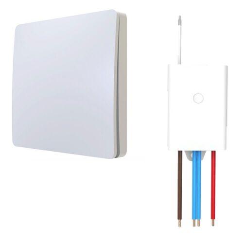 kalb Schalter »Funkschalter SET für LED Beleuchtung 230V Montage an der Wand Taster Drahtlos Kinetischer Batterieloser Schalter mit Empfänger«