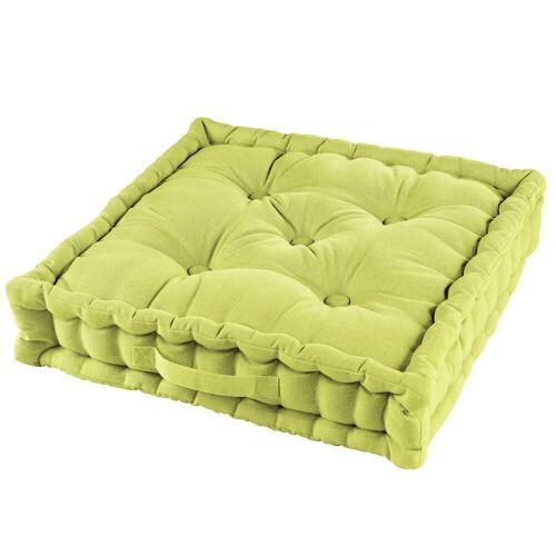 One Home Sitzkissen »solid«, Bodenkissen mit Tragegriff, grün