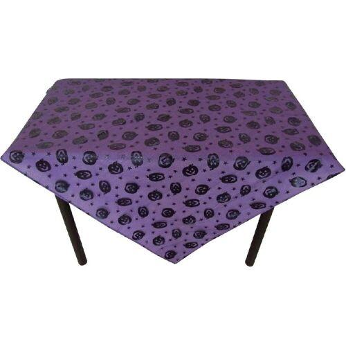 JOKA international Tischdecke »Tischdecke Halloween Kürbis in lila schwarz«, Halloween / Herbst Tischdecke mit Kürbis