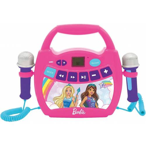 Lexibook® »Barbie Mein erster digitaler Karaoke Player« Stereoanlage