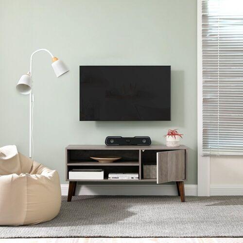 VASAGLE TV-Schrank »LTV009M01« TV-Regal, Fernsehtisch, Fernsehschrank, greige