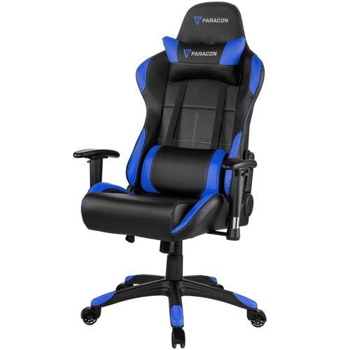 ebuy24 Gaming-Stuhl »Paracon Rogue Gaming Stuhl inkl. Nackenkissen und«, Blau