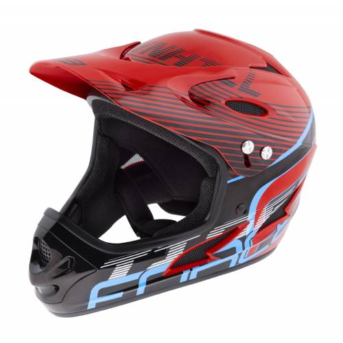 FORCE Fahrradhelm »Downhill Tiger Helm«, Rot