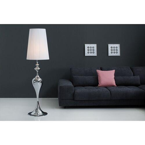 riess-ambiente Stehlampe »LUCIE 160cm weiß«, Barock Design