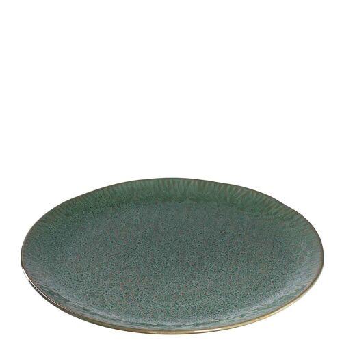 LEONARDO Pizzateller »MATERA Pizzateller 32 cm grün«, (1 Stück)