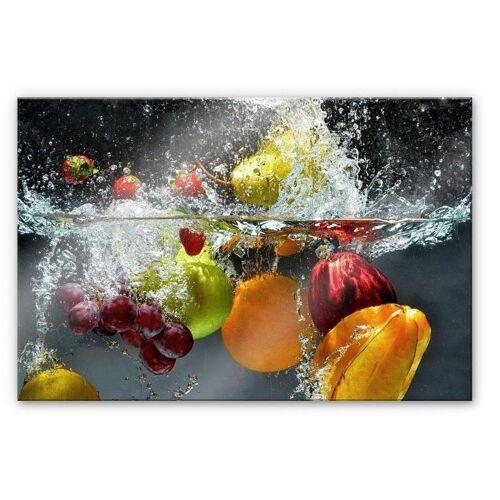 Herd-Abdeckplatte »Spritzschutz Küchenwand Obst«, Glas, (1 tlg)