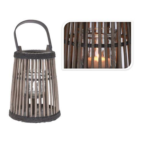 HTI-Living LED Laterne »Laterne mit Glas Laterne mit Glas«