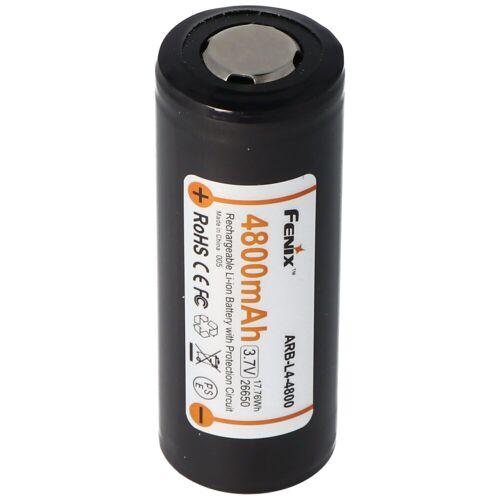 Fenix LED Taschenlampe »ARB-L4-4800 26650 Li-Ion Akku geschützt 3,7«