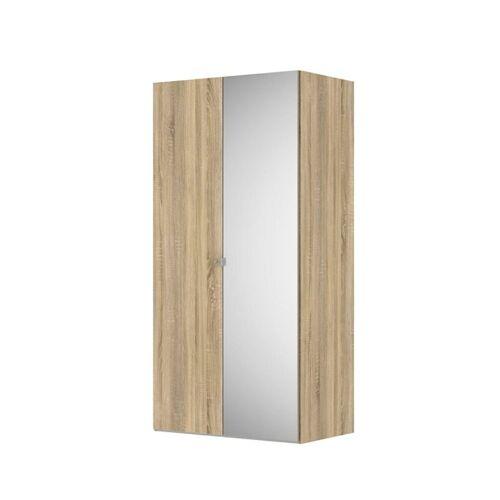 ebuy24 Kleiderschrank »Saskia Kleiderschrank B 1 Spiegeltür und 1 Tür. Ei«