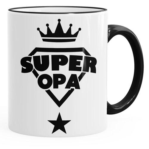 MoonWorks Tasse »Super Opa Tasse Geschenk-Tasse ®«