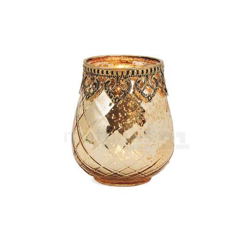 matches21 HOME & HOBBY Kerzenständer »Teelichtglas orientalisch Orient Windlicht antik«