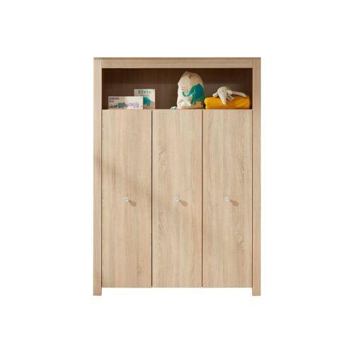 ebuy24 Kleiderschrank »Olja Kleiderschrank Kinderzimmer mit 3 Türen und 1«
