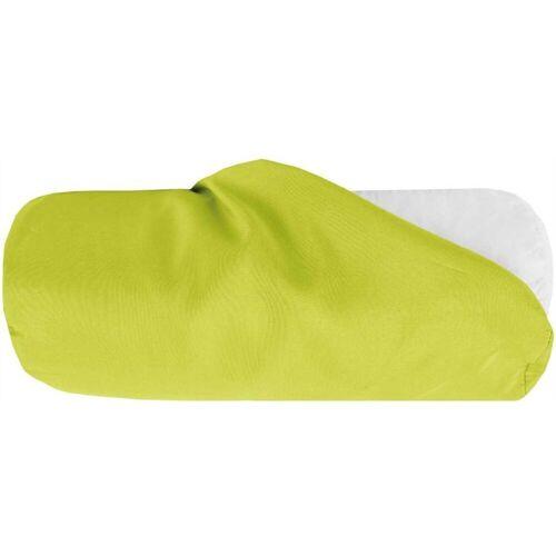 Bestlivings Nackenrollenbezug, (1 Stück), Nackenrollenbezug / Kissenbezug in versch. Größen, samtweich, Grün