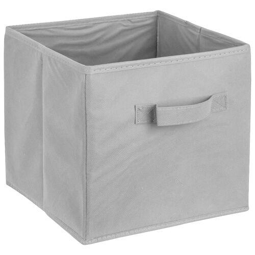 ADOB Aufbewahrungsbox »Faltbox« (1 Stück), Faltbox mit Griff, grau