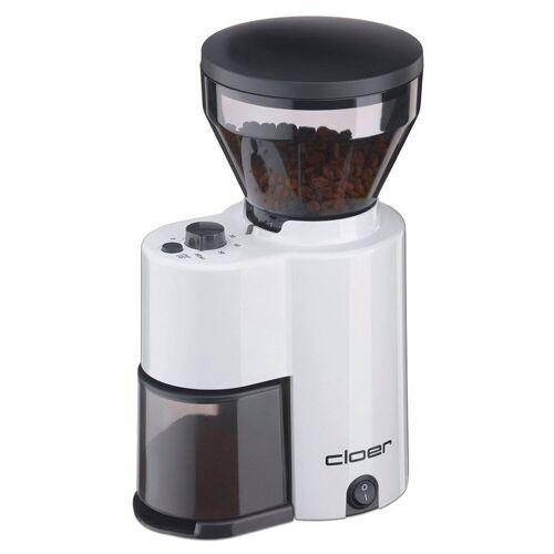 Cloer Kaffeemühle elektrische Kaffeemühle 7521 weiß