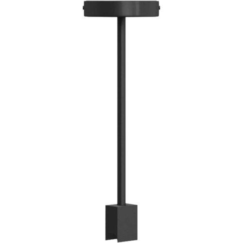 SEGULA Deckenleuchte »Deckenleuchte S14d«, starre Deckenleuchte, Linienlampen Deckenlampe, S14d Deckenlampe, S14d Deckenleuchte, Minimal Design Fassung S14d, stylische Linienlampen Fassung, Hängeleuchte Metall schwarz