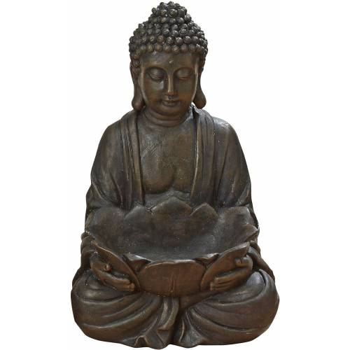 BOLTZE Dekofigur »Buddha mit Schale H30 cm«