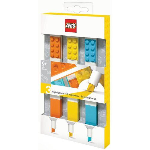 Lego Marker »Textmarker LEGO, 3 Farben«