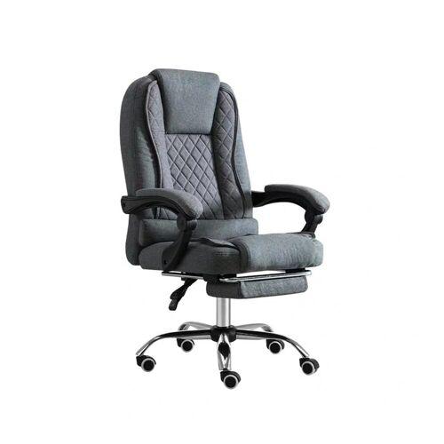 HTI-Line Schreibtischstuhl »Chefsessel Jackson«, Grau