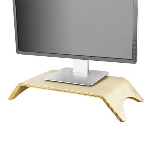 SoBuy »FRG98« Monitor-Halterung, (Design Monitor Bildschirm Ständer Monitorerhöhung Bildschirmerhöher Monitorständer)
