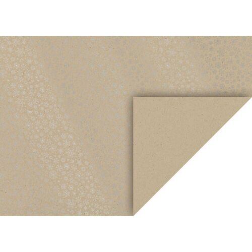 VBS Motivpapier »Kristalle«, 70 cm x 50 cm, Silber