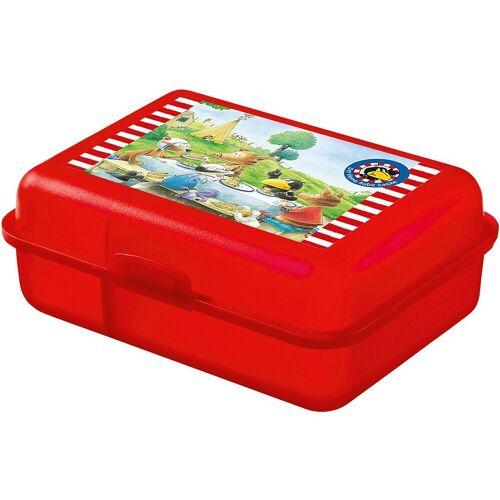 United Labels® Brotschale »Brotdose Playmobil Feuerwehr«, rot