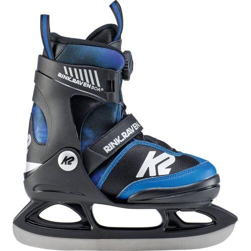 K2 Sports Europe Schlittschuhe »Schlittschuhe RINK RAVEN ICE BOA black_blue«