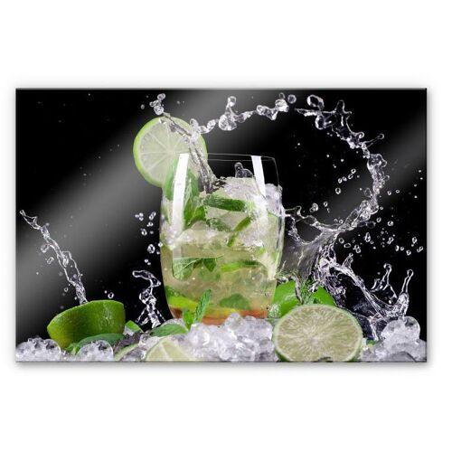 Küchenrückwand »Spritzschutz Splashing Mojito«, (1-tlg), transparent