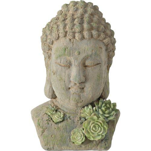 "BOLTZE Dekofigur »Dekofigur ""Buddha Elya"" L22 x B21 x H35 cm«"