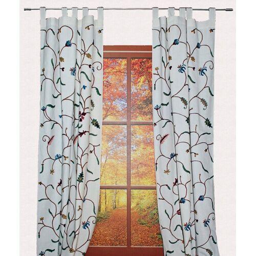 Hossner - ART OF HOME DECO Vorhang »Weissensee«, , Schlaufen (1 Stück), rustikaler Shabby-Chic