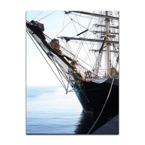 Bilderdepot24 Leinwandbild, Leinwandbild - Segelschiff