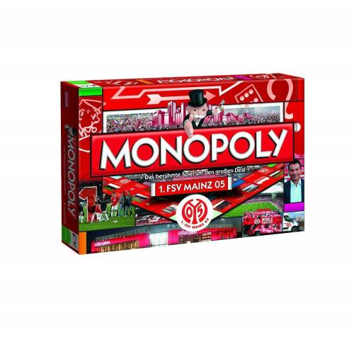 Winning Moves Spiel, Brettspiel »Monopoly 1. FSV Mainz 05«