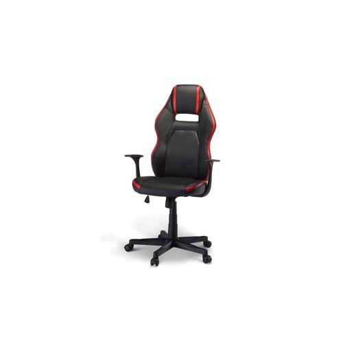 ebuy24 Gaming Chair »Spike Bürostuhl Gamer Stuhl schwarz und rot.«