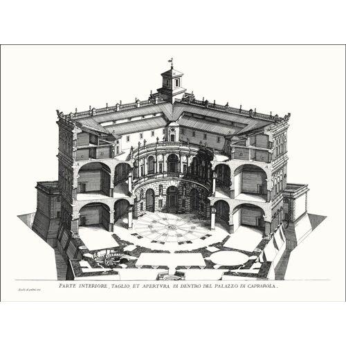 G&C Wandbild »VILLA CAPRAROLA II«, (1 Stück)
