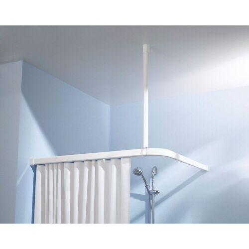 Kleine Wolke Deckenträger »Deckenhalterung«, , Vorhangschiene, (2-St), für Duschvorhangschienen, weiß