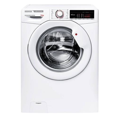 Hoover Waschmaschine HSX 14105T3/1-S, 10 kg, 1400 U/Min, Dampffunktion, Mengenautomatik, 16 Programme, Energieeffizienzklasse A+++